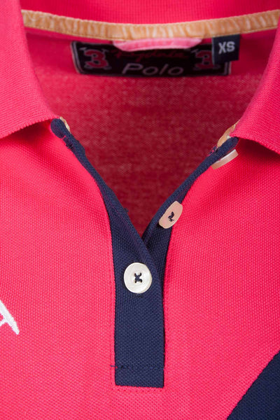 Ruby - Sash Design Polo Shirt