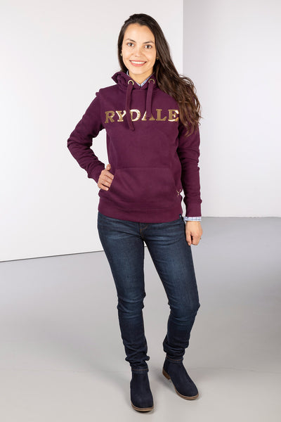Berry - Ladies Sequin Hoodie - Zoe