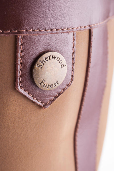 Tan - Sherwood Forest Balmoral Boots