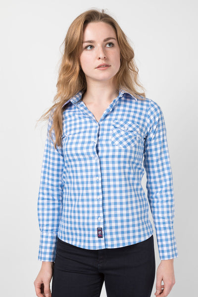 Holly Blue - Ladies Hannah Shirt