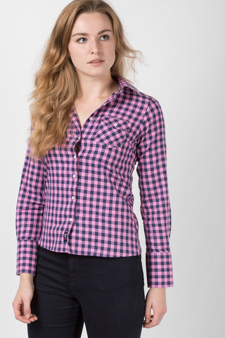 Hannah Country Check Shirt - Holly