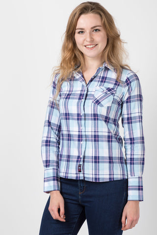 Hannah Country Check Shirt - Sally
