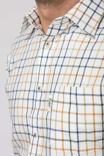 Blue Mix - Mens Rydale Cotton Shirts