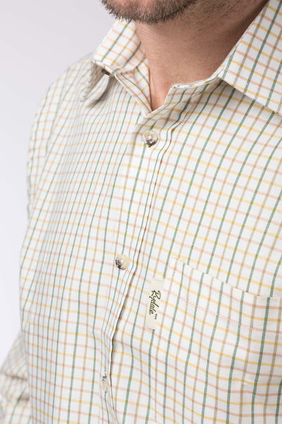 Tattersall Green - Mens 100% Cotton Shooting Shirt