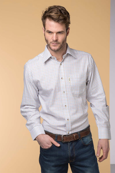Wetherby White - Mens Classic Check Shirt
