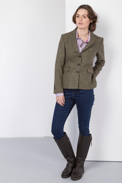 Alice - Ladies Short Tweed Blazer
