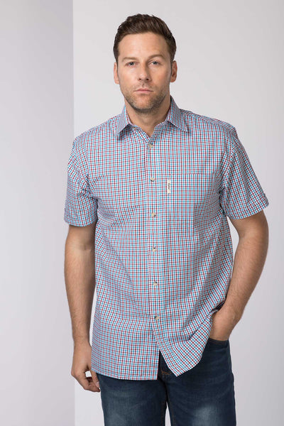 Kiplin - Men's Cotton Short Sleeve Shirt