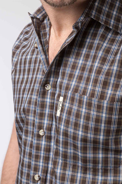 Leyburn Brown - Mens Short Sleeve Shirt