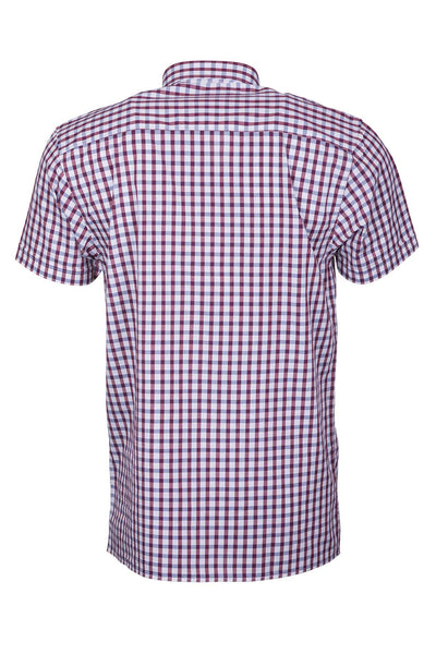 Allerton - Men's Cotton Short Sleeve Shirt
