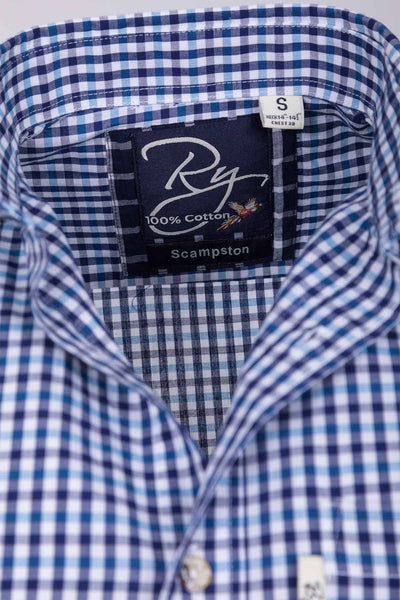 Scampston - Men's Cotton Short Sleeve Shirt