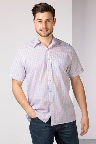 Eastfield White - Men's short sleeved shirt