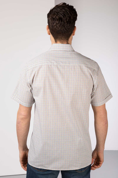 Halifax Blue - Men's Short Sleeve Shirt