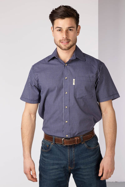 Helmsley Check - Mens Short Sleeve Shirt