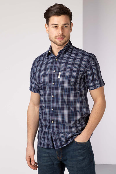 Hornsea - Mens Short Sleeve Shirt