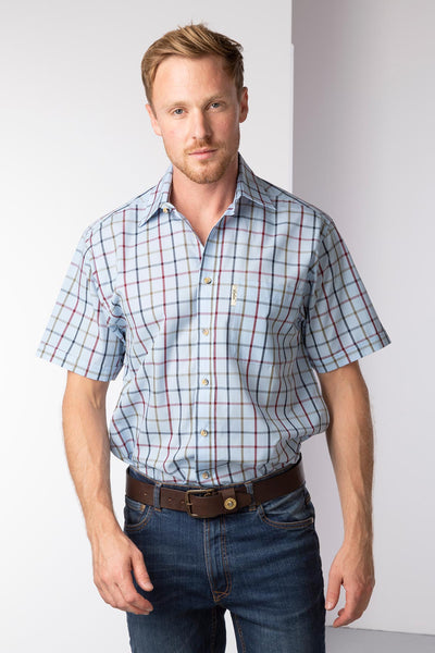 Ebberston Blue - Short Sleeved Shirts