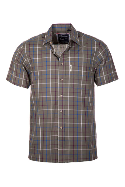 Ebberston Khaki - Short Sleeved Shirts