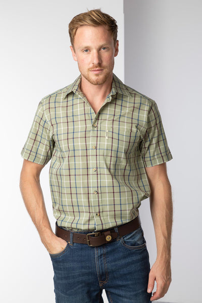 Ebberston Light Khaki - Short Sleeved Shirts