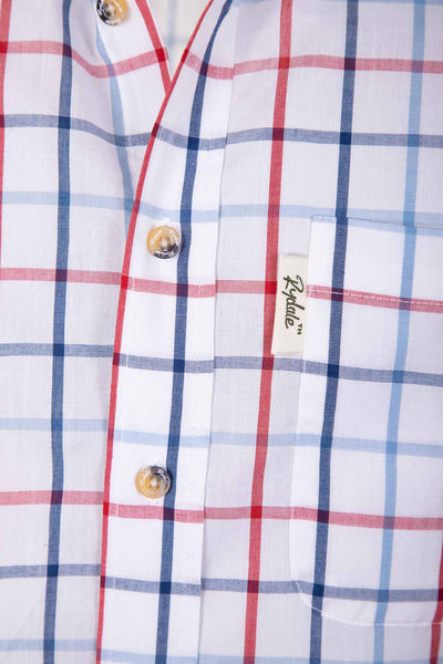 Ebberston White - Short Sleeved Shirts