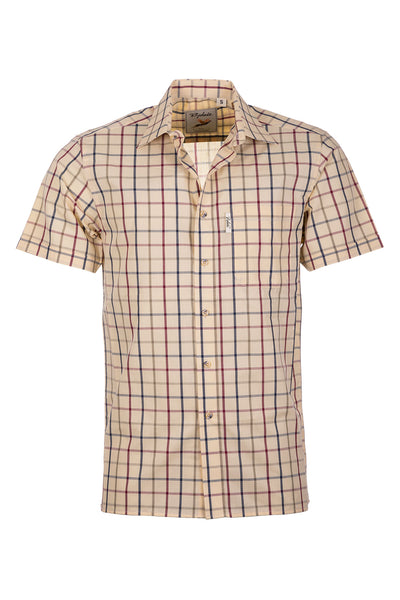 Ebberston Sand - Short Sleeved Shirts