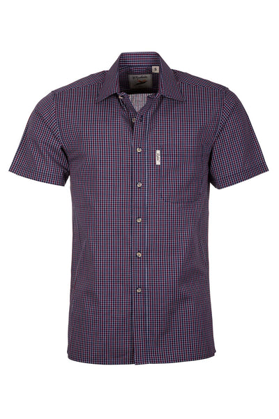 Ganton Red - Short Sleeved Shirts