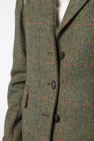 Holly - Ladies Short Tweed Blazer