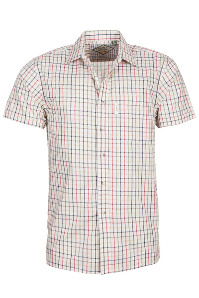 Sledmere Red - Short Sleeved Shirt