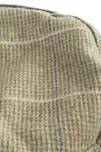 Small Check - Ladies Satin Lined Tweed Hat