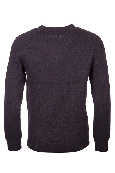 Dark Charcoal - Smooth Knit Lambswool Sweater
