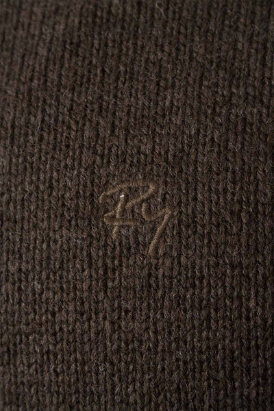 Olive - Smooth Knit Lambswool Sweater
