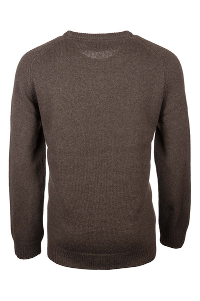 Men's Smooth Knit Lambswool Jumper