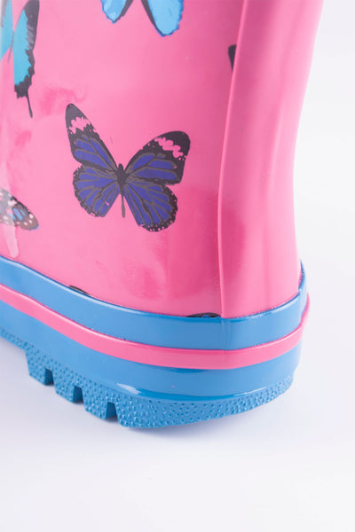 Butterfly Bonbon - Splish Splash Junior Wellies