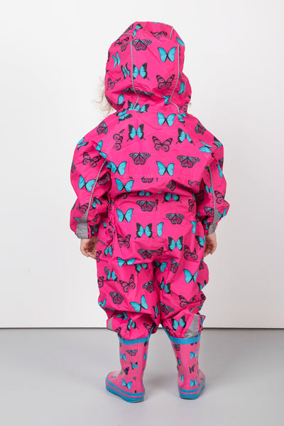 Butterfly Bonbon - Junior Patterned Splash Suit