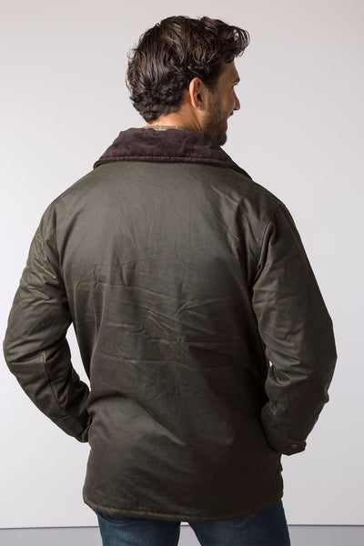 Olive - Stamford Antique Wax Jacket