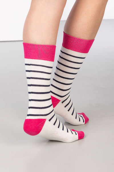 Vanilla - Striped Ankle Socks