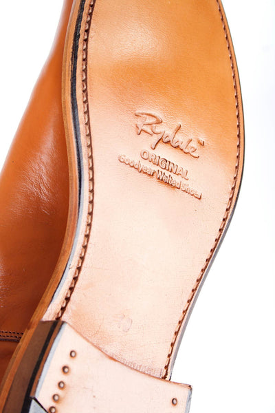 Tan - Rydale Leather Dealer Style Boots