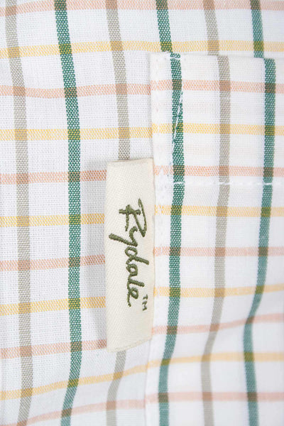 Tattersall Green - Mens Rydale Short Sleeved Shirt