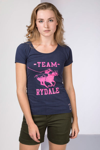 Navy - Ladies Team Rydale T-Shirt