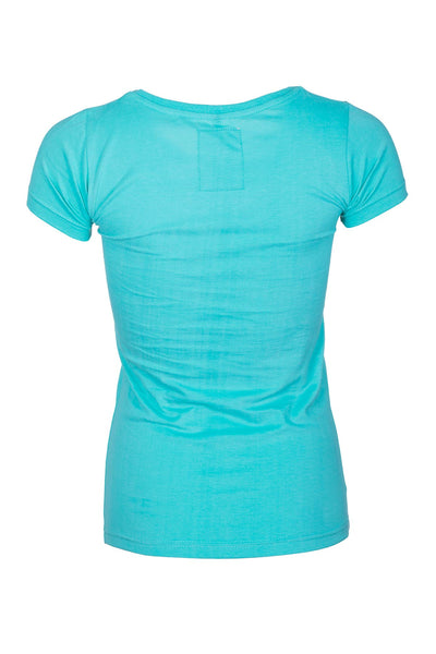 Turquoise - Ladies Team Rydale T-Shirt