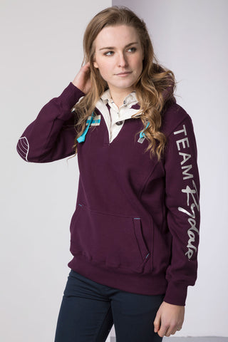 Berry - Ladies Team Rydale Hoody