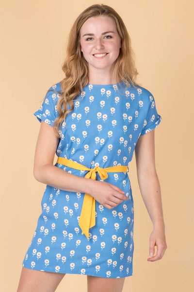 Daisy Blue - Ladies Jasmine Tie Dress
