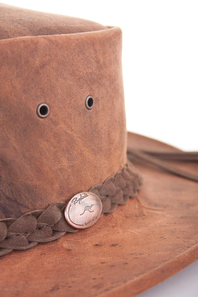 Tobacco - Rydale Leather Hats