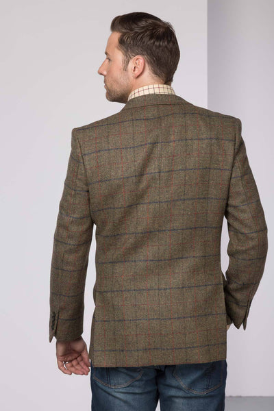Men's Long Tweed Jacket - York
