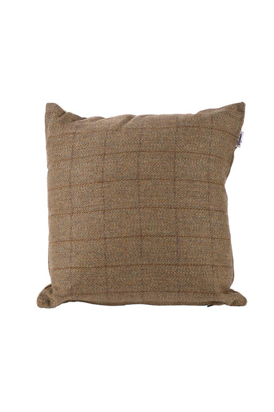 Light Check - Tweed Cushion