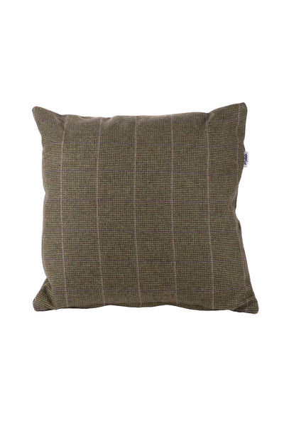 Small Check - Tweed Cushion