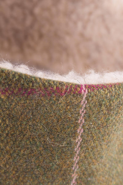 Light Green/Pink - Tweed Headband