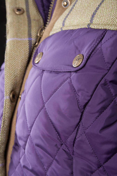 Dark Purple - Rydale Ladies Equestrian Jacket
