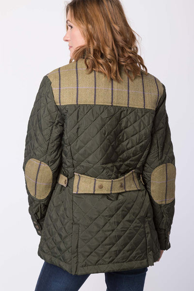 Olive - Tweed Trim Jacket 2016