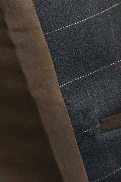 Selby Olive - Tweed Front Waistcoat