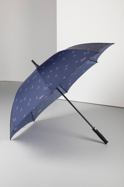 Horse Navy - Golf Umbrella