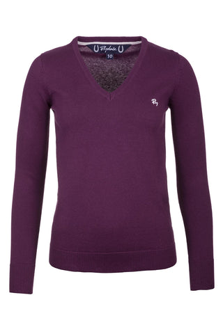 Ladies V Neck Sweater